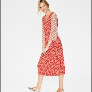 Boden Midi Dress- Size 10